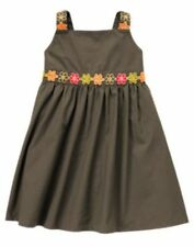NWT Gymboree Batik Summer Dress 3 6 12 18 24 m 2T 3T 5T Green Flowers Sundress