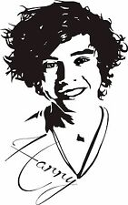 HARRY STYLES ONE DIRECTION  WALL ART  STICKER DECAL LARGE