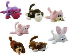 Crazy Critters Furry Laughing Dog Plush Motion Activated Toys (3 varieties); NEW
