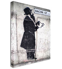 The Rabbi - BANKSY NEW Modern Graffiti Art Canvas Print