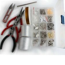 SETS HANDMADE JEWELERY MAKING FINDINGS DIY TOOLS SCISSORS TO PICK