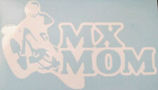MOTOCROSS MX MOM VINYL STICKER CAR DECAL CHOOSE YOUR OWN SIZE