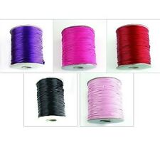 100M Lots Mixed Waxed Nylon Thread Jewelry Makeing DIY Cords