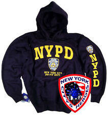 NYPD Shirt Hoodie Sweatshirt Officially Licensed by The New York City Police Dep