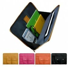 Leather Multi Use Pouch Bag Monopoly Brief Bag