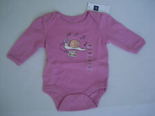 Baby Gap Girl's Pink Long Sleeve One Piece NWT