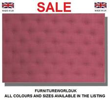Dali All Colours Bed Headboard All Sizes Linen Single, Double, King, Super King