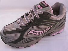 Saucony Girls Pink Brown Running Sneakers Shoes Sizes 10.5, 11.5, 12, 1 & 1.5