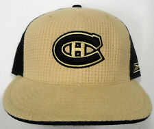 NHL Montreal Canadiens Reebok Fitted Hat Center Ice Collection Authentic Cap NEW