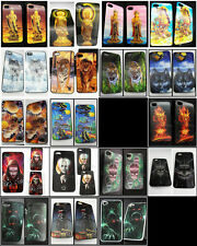 Vivid 3D Hard phone case Mutli pattern shell Skin cover Skull For iPhone 4G/4GS