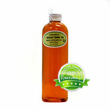 PURE WHEAT GERM CARRIER OIL ORGANIC COLD PRESSED 2 OZ 4 OZ 8 OZ -UP TO  7 LB