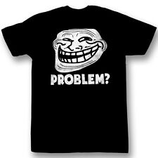 Troll Face You Mad? Problem? Meme Licensed Tee Shirt Sizes S-2XL