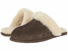 Women UGG Australia Scuffette Slipper 5661 Espresso 100% Authentic  Brand New