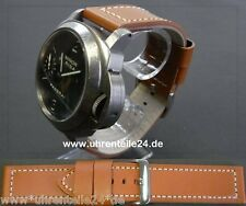 Superb leather strap compatible with PANERAI divers watch