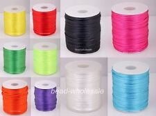 100 Yards Nylon Chinese Knot Beading Jewelry Cords Thread 2mm Dia 11 Colors Pick