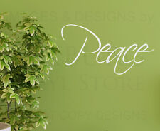 Wall Decal Sticker Quote Vinyl Art Lettering Decoration Peace Inspiring W16