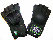 ACE FIGHT GEAR PRO MMA GLOVES COMPETITION MATT BLACK UFC ADULT YOUTH KIDS