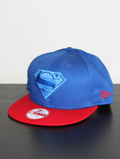 New Mens NEW ERA 9FIFTY Superhero Poptonal Superman Snapback Cap - Blue / Red
