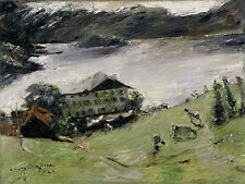 Landscape At Walchensee Lovis Corinth 1923 Art Photo/Poster Repro Print Many Si