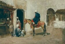 Photo Print Reproduction Moroccan On Horseback Tomas Moragas Other Sizes A