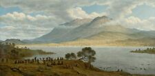 Mount Wellington Hobart Town From Kangaroo Point John Glover to 85cm/34in square