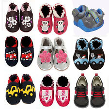New soft sole leather baby shoes, Robeez, Stride Rite, Little Steps, See Kai Run