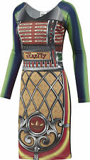 Adidas Originals Jeremy Scott ObyO Jukebox Dress Top Shirt New $400 Rare Suit