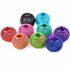 Various Jewelry Lots Basketball Wives Earrings Spacer Craft Mesh Beads 14mm