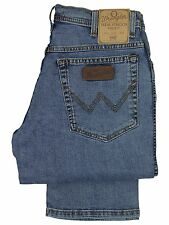 MENS NEW WRANGLER TEXAS STONEWASH STRETCH STRAIGHT LEG JEANS. **30 TO 48