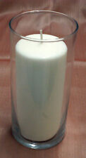 """1-Pillar Candle Holder~3"""" x 7-5/16"""" Holder With Candle or Just Holder~You Choose"""