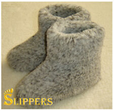 Men's Slippers Boots Pure Sheep Wool Shoes for Men Size 4 5 6 7 8 9 10 Sheepskin