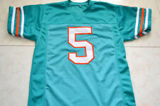 RAY FINKLE #5 ACE VENTURA MOVIE MIAMI JERSEY TEAL GREEN - ANY SIZE