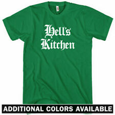HELL'S KITCHEN T-shirt - Gothic - New York City NYC 212 Manhattan - NEW XS-4XL