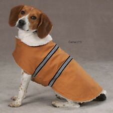 Zack & Zoey Cotton Duck Ranch Dog Coat Jacket Camel
