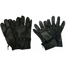 D3A LEATHER SHELL REINFORCED PALMS GLOVES - Made To US Government Specifications