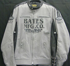 BATES LEATHERS CANVAS STREET WEAR JACKET