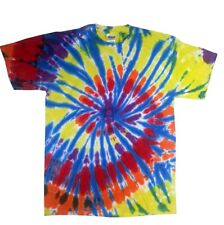 Kaleidoscope Tie Dye T-Shirts Size Youth XS to Adult XL. Check Description