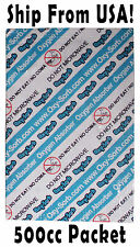 500cc Oxygen Absorbers / Scavengers - Great For 1 or 2 Gallon Food Storage! NEW!