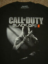 CALL OF DUTY BLACK OPS II T-SHIRT  MENS GAMER LONE WOLF COD 2 XBOX PS3 360