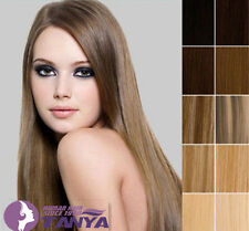 """20"""" 85g one piece 5 clips clip-in on real human hair extension ,india human hair"""