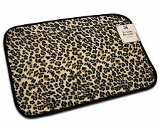 "20""x32"" ANIMAL DESIGN LEOPARD BATH MAT, FOAM PLUSH RUG, NON-SLIP, SHOWER MAT RUG"
