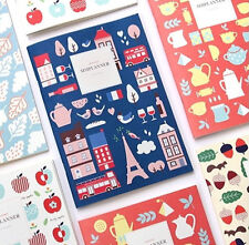 Kawaii Monthly Planner GMZ SIM Planner_Line notebook Special Edition