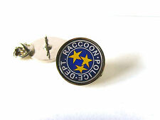 RESIDENT EVIL STARS S.T.A.R.S. RACCOON POLICE LAPEL PIN OR BADGE TIE PIN GIFT