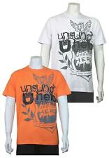 Unsung Hero Mens Printed T-Shirt Tee Top Short Sleeve Summer Holiday - BALDRICK