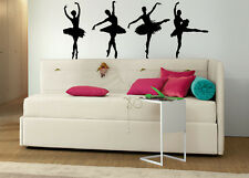 Ballerina Furniture Stickers Stencil Wall Art Decal Girls Bedroom deva grafix