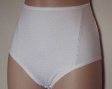 Fa M ou S Store Cotton Rich Firm Control High Leg Knickers / Briefs / Pants