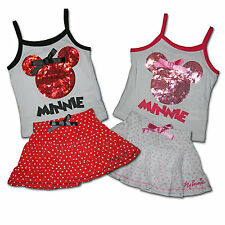 WOW ♥ Minnie Mouse Set ♥ Shirt + Rock ♥ 2 Fb. ♥ 98 104 110 116 122 128 ♥ Mickey