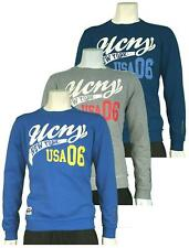 Mens UCNY Crew Neck Printed Collegiate Sweatshirt Top S M L XL RRP£40 - C606588