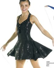 Sophisticated Lady Black Dress Dance Costume Jazz Contemporary Disco Adult