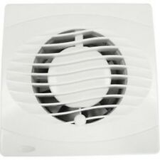 EXTRACTOR FANS 4 INCH 100MM WALL / CEILING BATHROOM WHITE ALL VERSIONS AVAILABLE